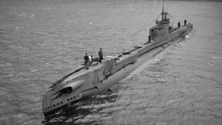 Британская подводная лодка аналогичная «Трайдент»