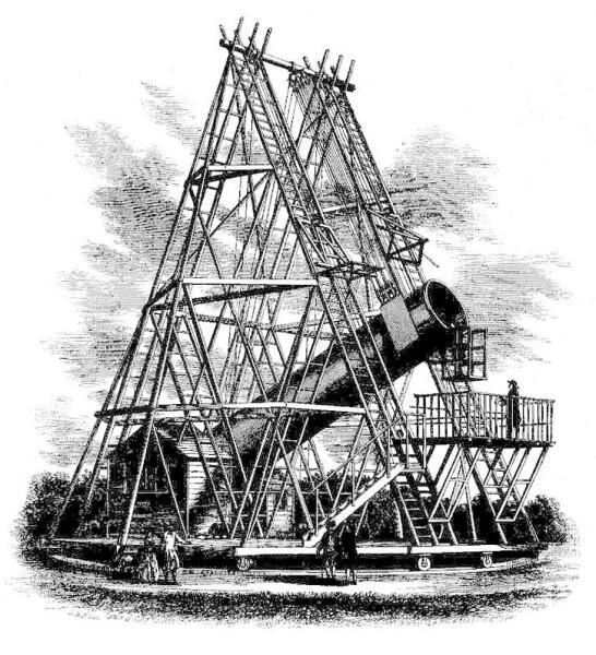 40-футовый телескоп Гершеля