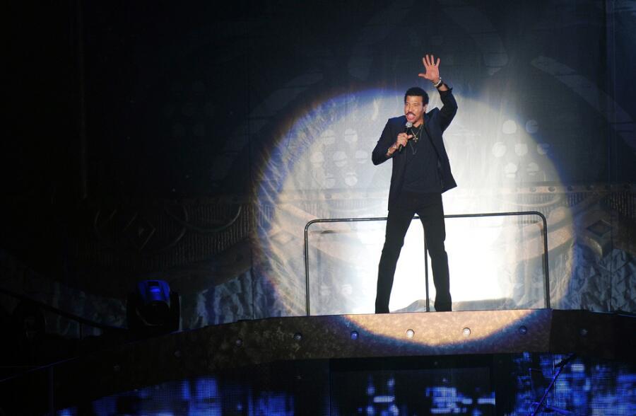 Выступление Лайонела Ричи в Праге, 20.10.2012 г.