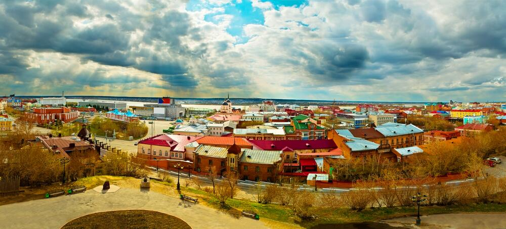Панорама города Томск