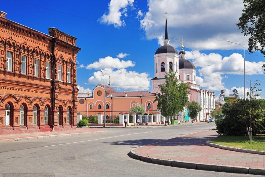 Богоявленский собор в Томске