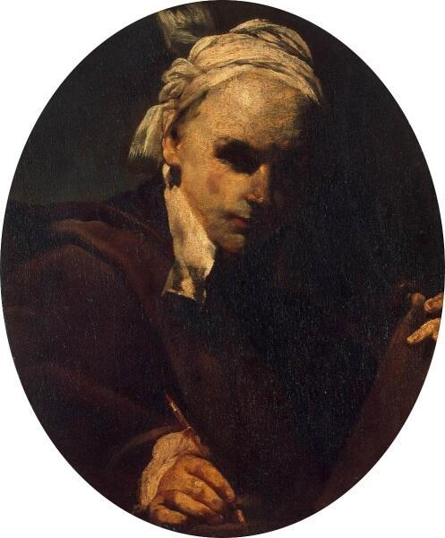 Джузеппе Креспи, «Автопортрет», 1700 г.