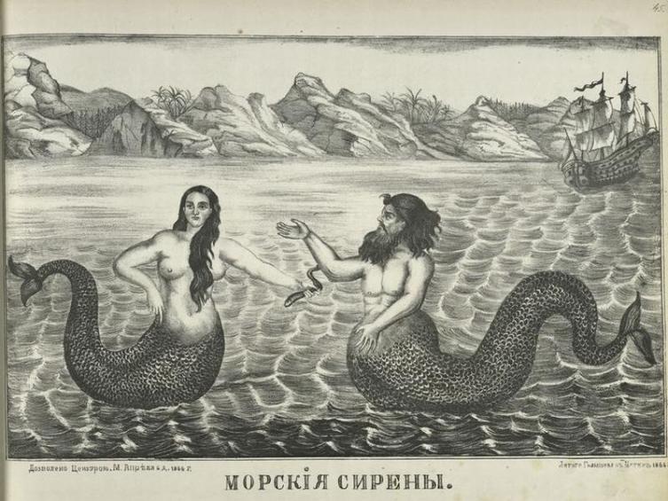 Лубок 1866 г.
