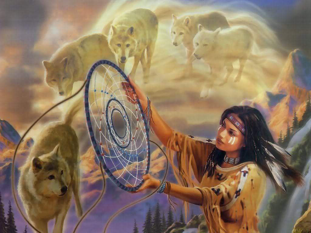 Индейские талисманы. Как можно ловить сны?