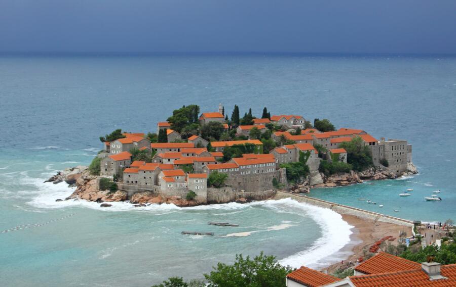 Остров Свети-Стефан в Черногории, Адриатика