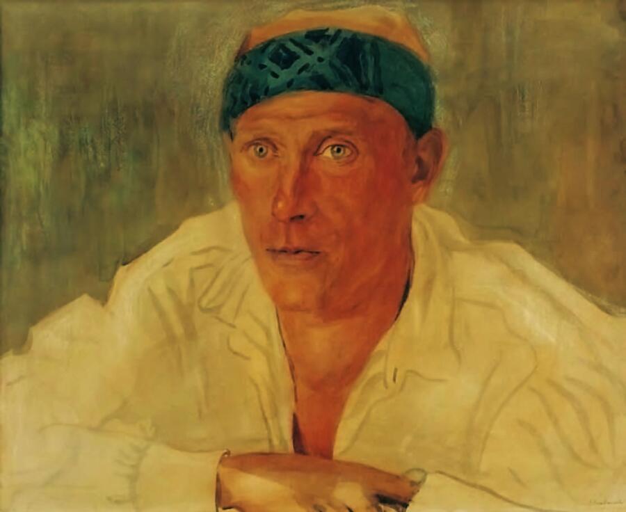 А.П. Остроумова-Лебедева, «Портрет Михаила Булгакова», 1923 г.