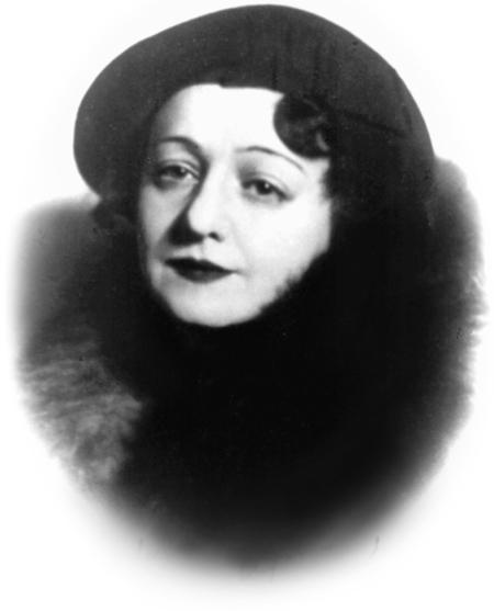 Елена Сергеевна Нюрнберг, 1938 г.