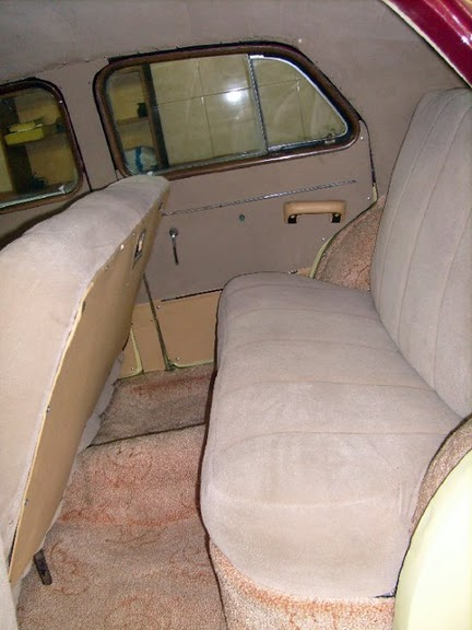 Автомобиль имел комфортный и просторный салон