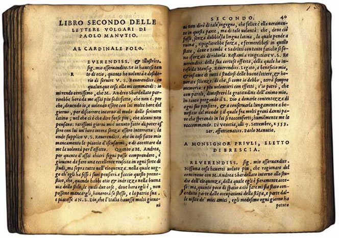 Книга отпечатанная в типографии Гриффо