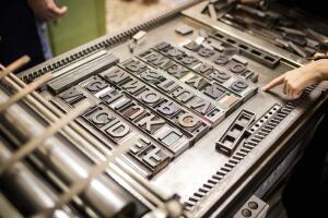 Чьими именами названы типографские шрифты?