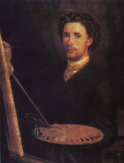 Д.М. Болотов, «Автопортрет», 1866г.