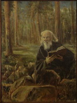 П.М. Долинино-Иванский, «Портрет иеромонаха Даниила (Болотова)», 1901г.