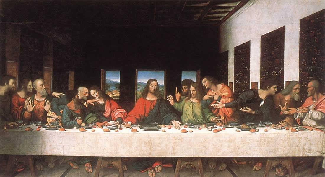 Леонардо Да Винчи, «Тайная Вечеря»