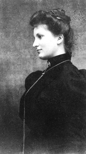 Альма Малер-Верфель на фотографии 1899 г.