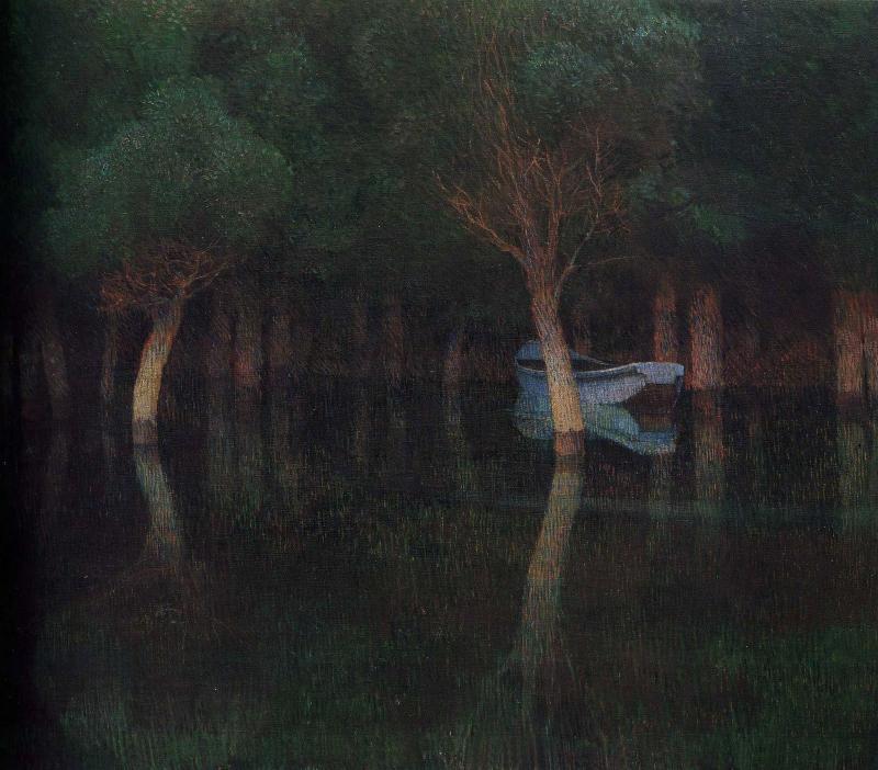 Карл Молль, «Сумерки», 1900 г.