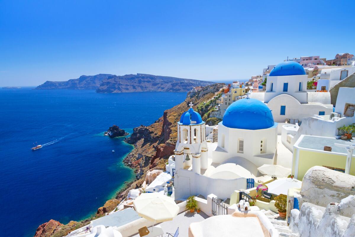 Греция. Деревня Ия на Санторини