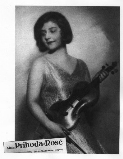 Рекламное фото - Альма Розэ-Пшихода, начало 1930 годов