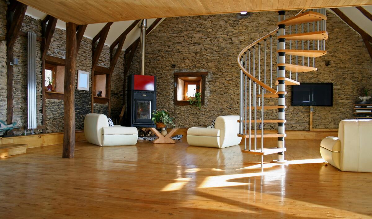 Дизайн интерьера. Подходит ли крупнофактурный камень для жилых помещений?