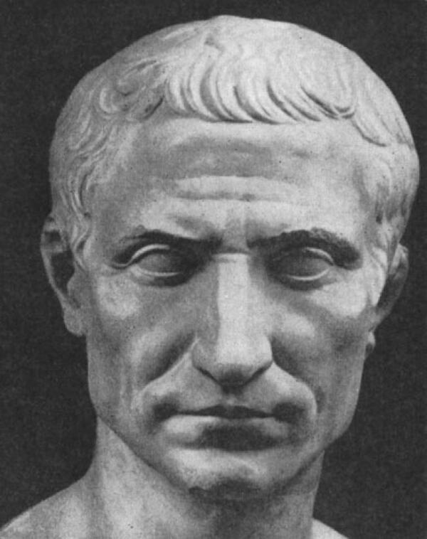 Бюст Юлия Цезаря