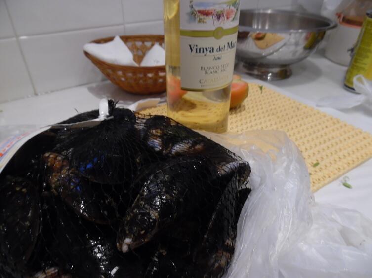 Мидии. Как их готовят в Испании?