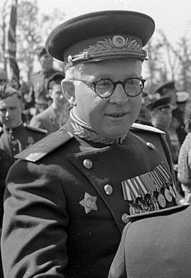 Котиков Александр Георгиевич. Комендант советского сектора Берлина (1946—1950) гг.