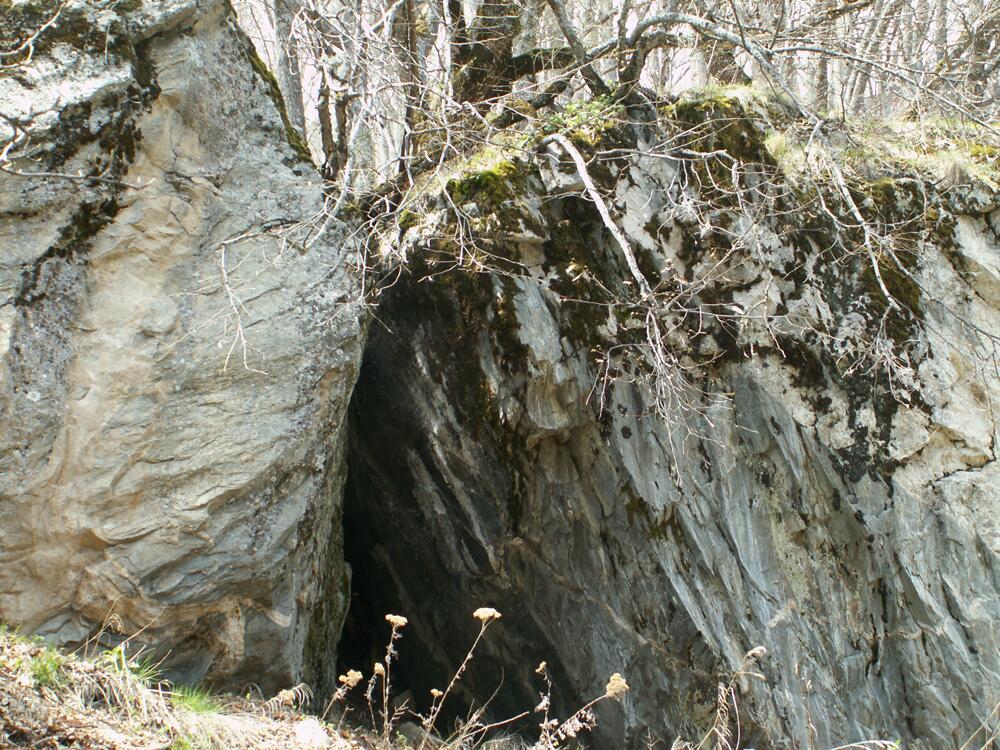 Пещера Святого Иоанна Рильского на окраине Рильского монастыря