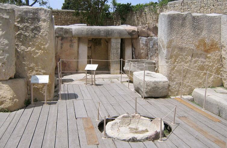 Мегалитический храмТаршиен, Мальта