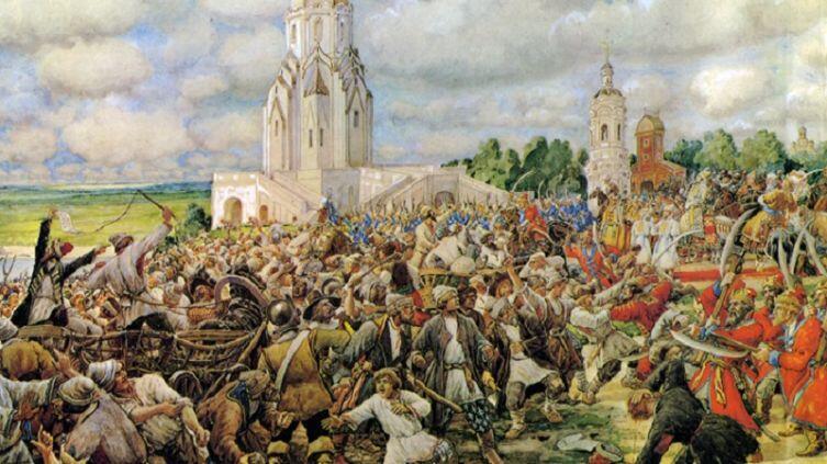 Эрнест Лисснер, «Медный бунт. 1662», 1938 г.