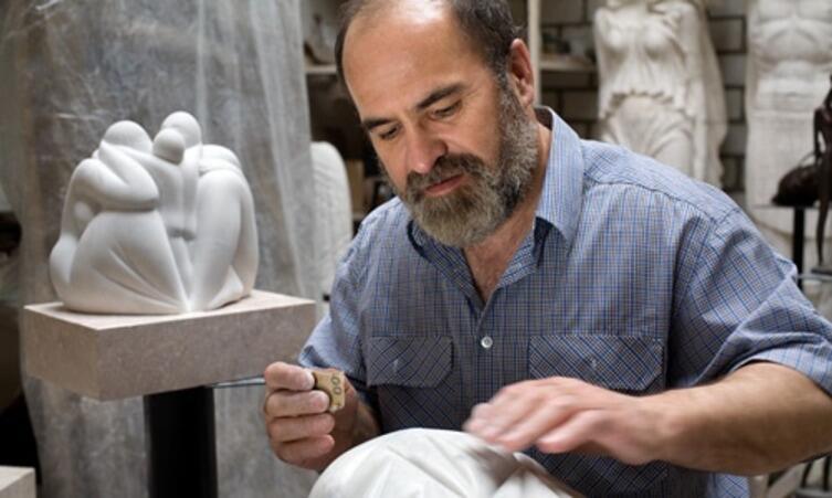 Украинский скульптор Алексей Владимиров