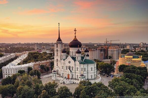 Города России. Чем знаменит Воронеж?