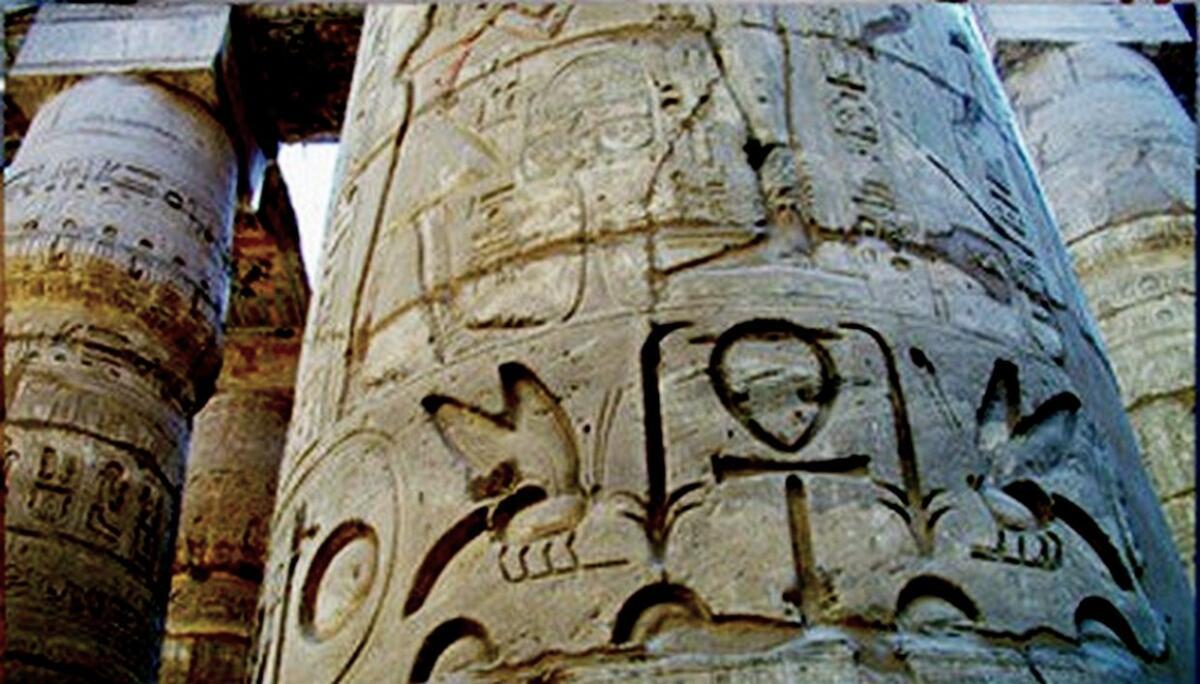 Контррельефы на колоннах