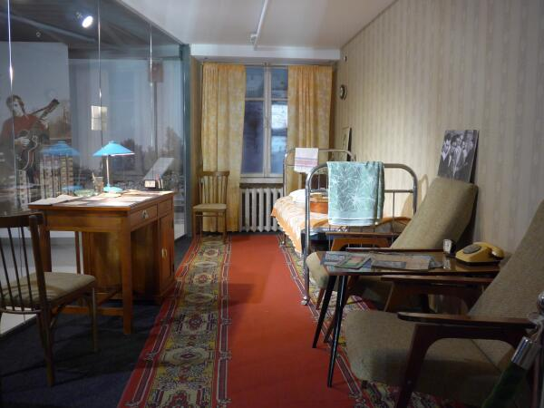 В музее Высоцкого - номер гостиницы «Большой Урал»
