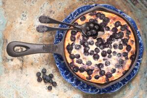 Как приготовить творожный пудинг на сковороде?