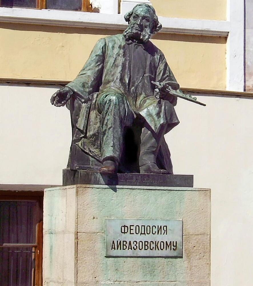 Памятник Айвазовскому, Феодосия