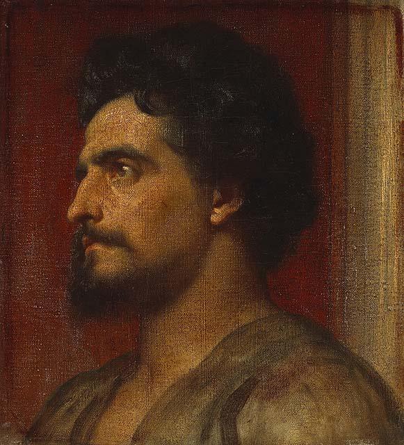 Фредерик Лейтон, Самсон, 1858г.