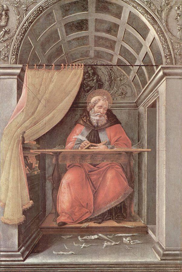 Боттичелли, «Св. Августин»