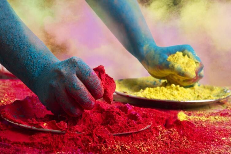 Что такое краски Холи?