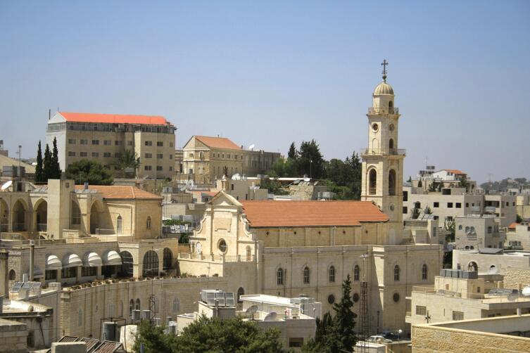 Церковная башня Вифлеем, Западный берег, Палестина
