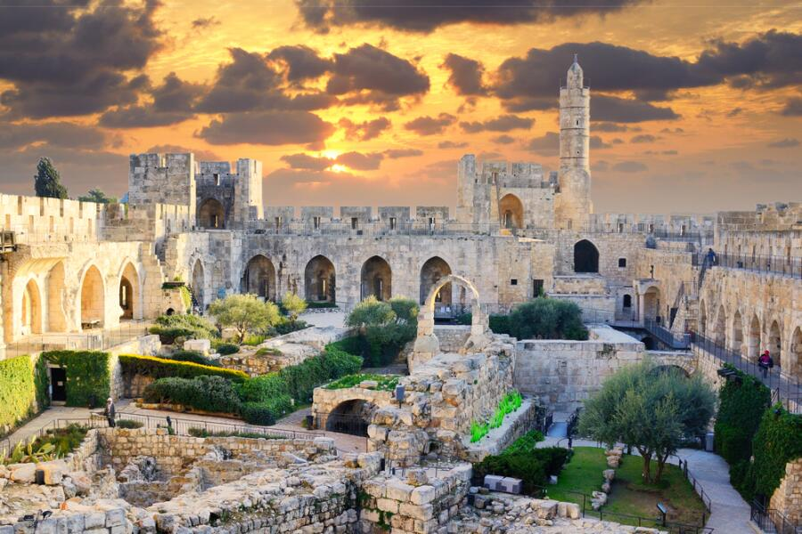 Башня Давида, Иерусалим, Израиль