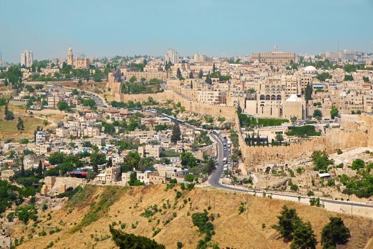 Вид города Иерусалим, Израиль