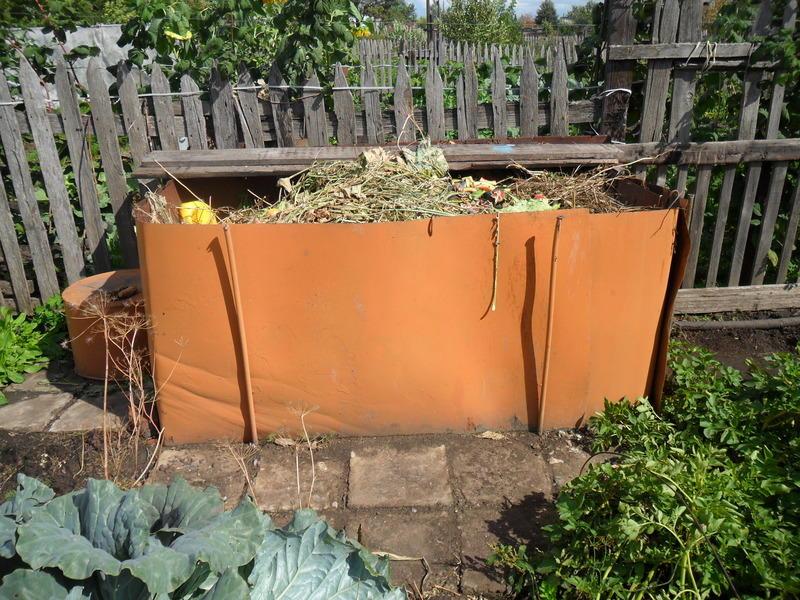 Ящик для сбора растительных отходов