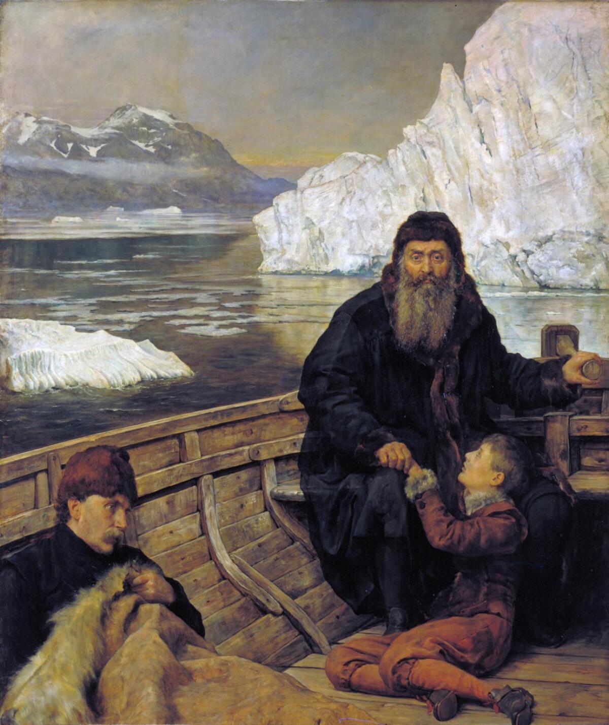 Джон Кольер, «Последнее путешествие Генри Гудзона»