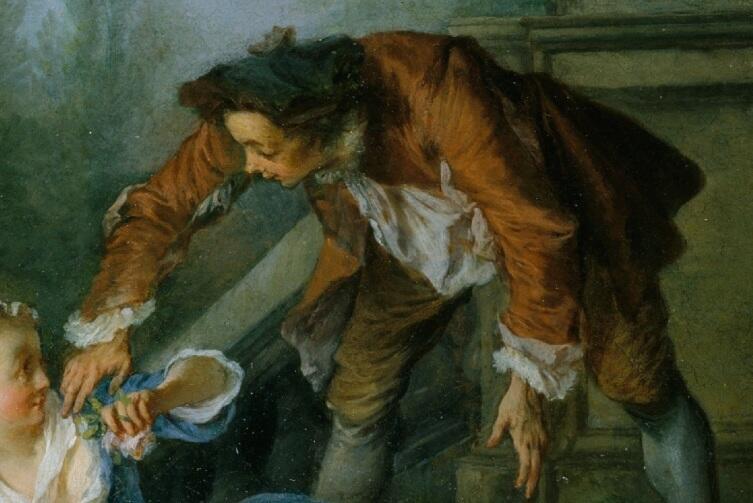 Николас Ланкре, Своевременная помощь, фрагмент «Помощник»