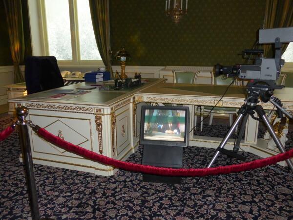 Кабинет Ельцина перевезенный из  Кремля