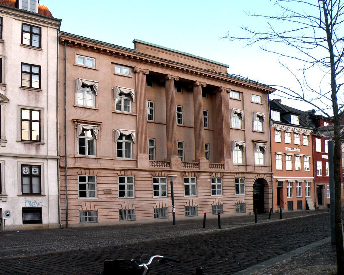 Копенгаген. Дом, где родился Нильс Бор