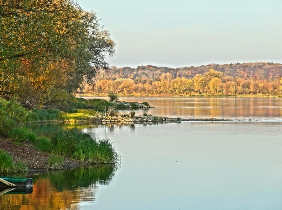 Река Висла, Польша