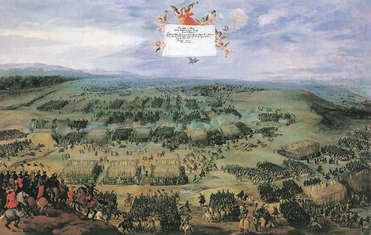 Битва на Белой Горе, Питер Снайерс, 1620 г.