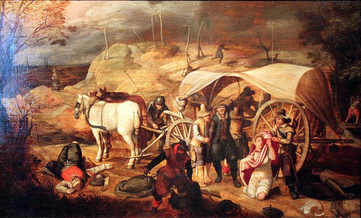 Мародёрствующие солдаты, Себастьян Вранкс, 1647 г.