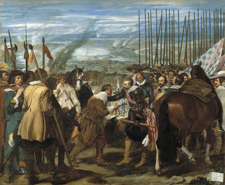 Сдача Бреды, Диего Веласкес, 1635 г.