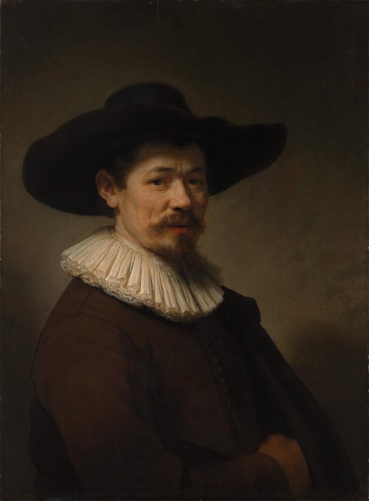 Рембрандт ван Рейн, «Портрет Германа Думера», 1640г.